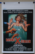Hospital Massacre  Horror Poster - Belgian